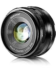 Neewer 35 mm F1.7 grote diafragma handmatige Prime Fixed-lens APS-C compatibel met Sony E-Mount digitale spiegelcamera A7III A9 NEX 3 3N 5 NEX 5T NEX 5 A6400 A5000 A5100 A6000 A6100 A6300 A650 A30 00.