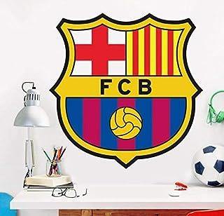FCB FC Barcelona Vinilo Decorativo Oficial fútbol, 48x48x48 cm