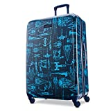 American Tourister Star Wars Hardside Spinner Wheel Luggage, Intergalactic, Checked-Large 28-Inch