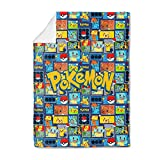 Cartoon Blankets Kids Anime Game Characters Throw Blanket for Boys Girls Super Soft Flannel Lovely Bed Blanket 50'X40'