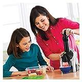 GFITNHSKI Heladera electrónica para el hogar, portátil para Uso doméstico, para Hacer Frutas y Verduras, Ideal para Preparar sorbetes, sorbetes, Helados de Frutas y Yogur Helado para niños