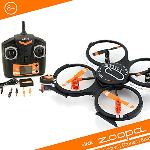 zoopa Acme Q 165 Quadrocopter Interior | con función de Flip integrada de 360 Grados (ZQ0165)