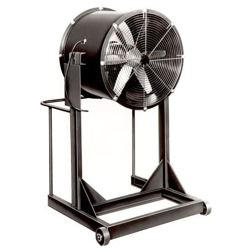 Great Deal! Americraft 24 TEFC Aluminum Propeller Fan With High Stand 3/4 HP 6900 CFM
