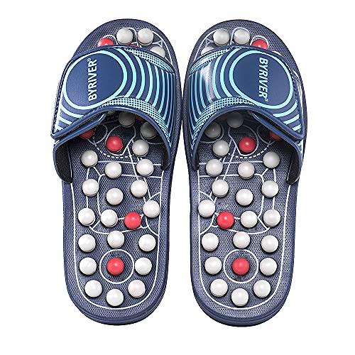 5. BYRIVER Zapatillas masajeadores de pies
