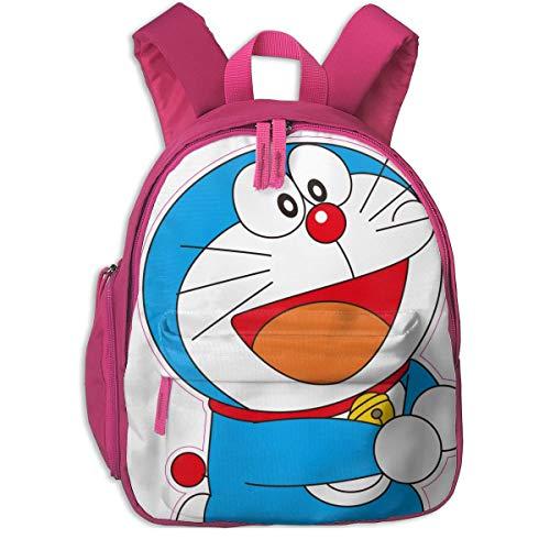 JKSA Mochilas Escolares Lindas de Doraemon para niñas, niños, niños, Bolsas de Escuela Primaria, Mochila, Mochila de Viaje al Aire Libre