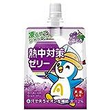 赤穂化成 熱中対策ゼリー ぶどう味 150gパウチ×24本入×(2ケース)