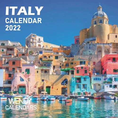 Italy Calendar 2022: Cute Gift Idea For Italy Lovers   Great for Birthday, Exchange, Stocking Filler or Stuffer