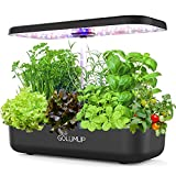 GOLUMUP Sistema de Cultivo Hidropónico Kit de Cultivo Interior con Luz de Crecimiento LED de Espectro Completo, Huerto Interior...