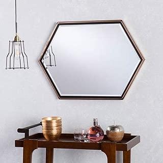 Holly & Martin Whexis Hexagon Wall Mirror, 34