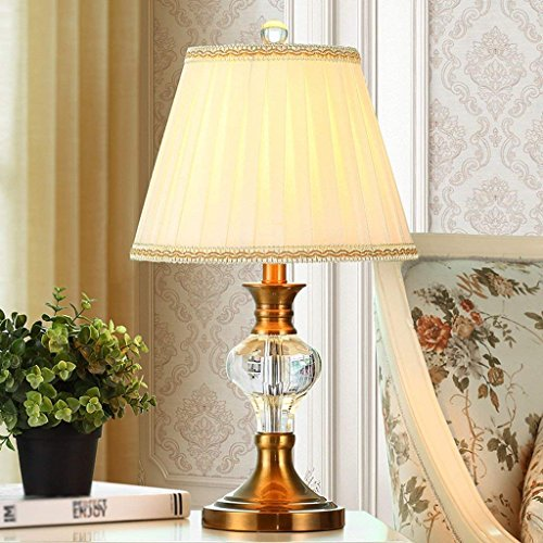 DSJ Europese kristallen tafellamp slaapkamer bedlampje eenvoudige moderne Amerikaanse stijl mode bureaulamp bruiloft decoratie, BBB
