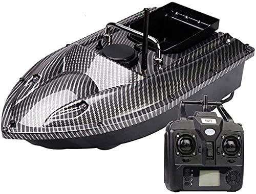 Barco Cebador Pesca RC Señuelo Navegación Navegador Buscador de Peces con Luz...