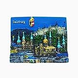Salzburg Österreich Kühlschrankmagnet Reise Souvenir Geschenk Home Küche Dekoration Magnet Aufkleber Österreich Kühlschrankmagnet Kollektion
