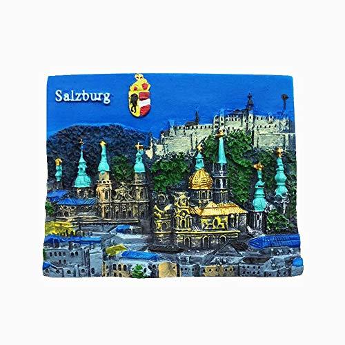 Salzburg Österreich Kühlschrankmagnet Reise-Souvenir Geschenk Home Küche Dekoration Magnetaufkleber Österreich Kühlschrankmagnet Kollektion