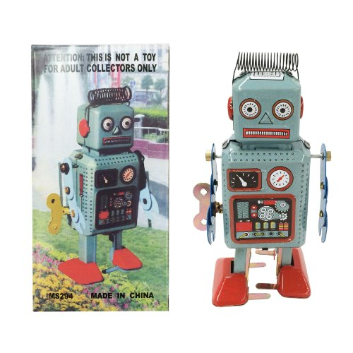 Off the Wall Toys Retro Classic Wind-up Robot (Japan Circa 1940s)