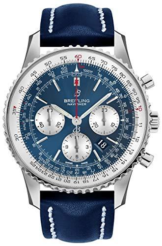 Aurora Blue Breitling Navitimer 1 B01 Reloj cronógrafo 46 mm AB0127211C1X1