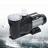 Bomba de agua eléctrica para piscina, 1200 W, 220 V, flujo máximo: 450 l/min