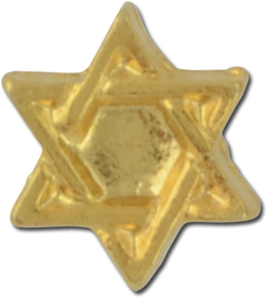 Star of David Lapel Pin