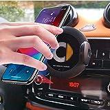 WSJXDJ Supporto di Navigazione per Telefono a Ricarica Rapida per Caricabatterie Wireless da Auto da 1 pz per Smart 451 Smart 453 fortwo forfour