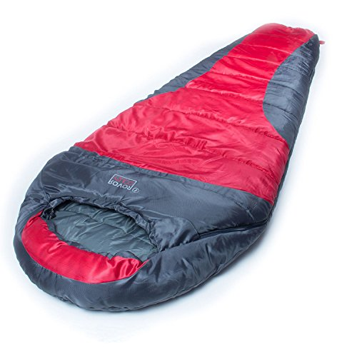 Price comparison product image ROVOR Couzy 40 Degree Mummy Sleeping Bag