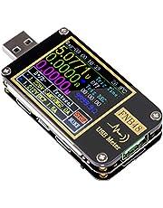 USB Tester USB Voltage Meter PD Trigger Voltmeter USB 3.0 Spanning en Huidige Tester DC 4-24V 6.5A USB C Multimeter PPS Snel Opladen Protocol Capaciteit Tester QC2.0 3.0 FNB48