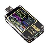Probador USB Medidor de voltaje USB Voltímetro de disparo Bluetooth PD Probador de...