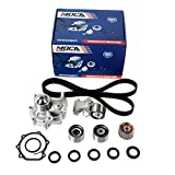 MOCA TCK304 Timing Belt Kit with Water Pump for 1999-2005 Subaru Impreza & Subaru Forester with Manual Transmission & 2000-2005 Subaru Outback W/VIN G only Non-Turbo 2.5L