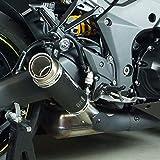 Auspuff Bodis GPC-RS II Slip-On-Satz Edelstahl schwarz Z 1000 ABS ZRT00H 17-18