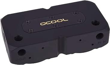 Alphacool 13322 Eisdecke D5 Dual Brass top - deep Black Water Cooling Pumps