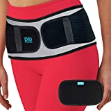 Sacroiliac Si Hip Belt - Relief for Sciatica, Pelvic, Lower Back, Lumbar and Leg Pain. Si Hip Joint Support for Women and Men. Anti-Slip Sciatic Nerve Brace (Regular Size)