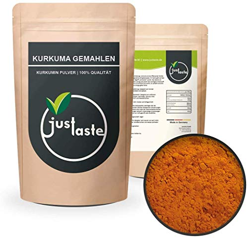 5 kg Kurkuma Pulver GRÖSSENAUSWAHL | Kurkumawurzel gemahlen | Wurzel | Gewürz | Curcumin Kurkumin | Curcuma Latte