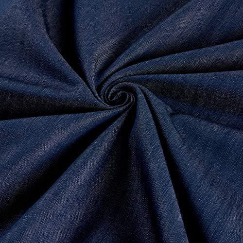 Kaufman Chambray Union AK Indigo, Fabric by the Yard