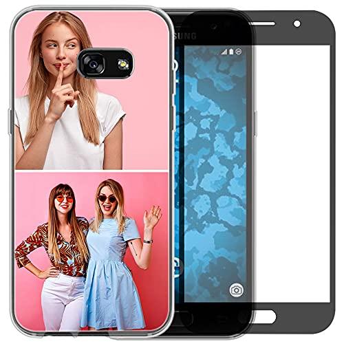 Funda de teléfono compatible con Samsung Galaxy A3 2016 (Clear Layuot 2 imágenes)
