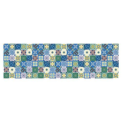 Art Creatief Toilet Waterdicht PVC Zelfklevend Behang Marokkaanse Stijl Decoratieve Sticker 60 * 200Cm