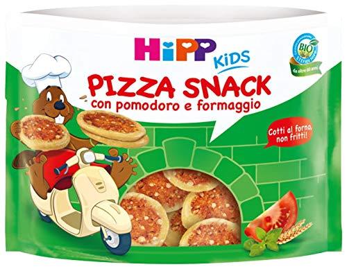 Hipp - Pizza Snack, Gusto Pomodoro E Formaggio, Cotti Al Forno, 6 Confezioni da 50 G - 300 g