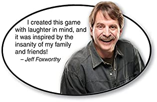 PlayMonster Relative Insanity Party Game About Crazy Relatives -- Made & played by Comedian Jeff Foxworthy!