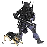 YEIBOBO ! Highly Detail Special Forces 12inch Action Figure SWAT Team - BREACHER and Police Dog