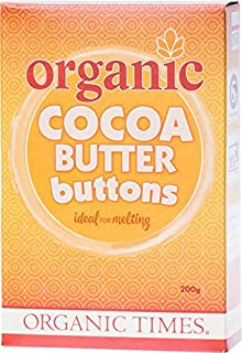 Organic Times Cocoa Butter Buttons 200 g