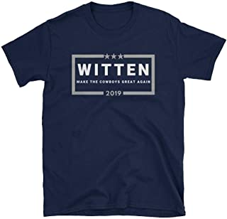 LiberTee Witten Make The Cowboys Great Again Tshirt for Men and Women, Funny 2019 Football Shirt for Cowboy Fans