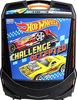 Hot Wheels 100-Car Rolling Storage Case with Retractable Handle