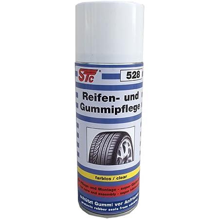 Stc Reifen Und Gummipflege 400 Ml Spray Reifenpflege Gleitmittel Reifenreiniger Reifen Glanz Auto