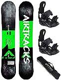 Airtracks/Samsara Snowboard Flat Rocker + Fijaciones Star o...