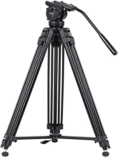 DP-iot VT-2500 Video Tripod Kits Camera Stand Profesional Aluminum Alloy for All Models Flexible Portable Holder