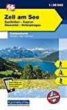 Zell am See, Saalfelden, Kaprun, Glemmtal, Unterpinzgau: Nr. 11, Outdoorkarte Österreich, 1:35 000, Freemap on Smartphone included (Kümmerly+Frey Outdoorkarten Österreich)