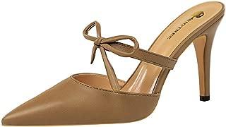MisaKinsa Women Fashion Summer Shoes Stiletto High Heels Mules Sandals