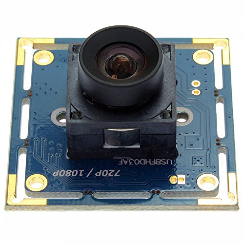 ELP Webcam 2MP Megapixel 1080P CMOS OV2710 30fps Autofokus USB Kamera Modul für Windows/Linux/Android USBFHD03AF-A100