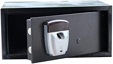 Steel Safe Steel Safe with Keypad and Fingerprint Unlock for Home Office Hotel Jewelry Cash Storage Electronic Depository ...