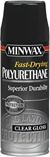 Minwax 33050000 Fast-Drying Polyurethane Aerosol, 11.5 ounce, Gloss