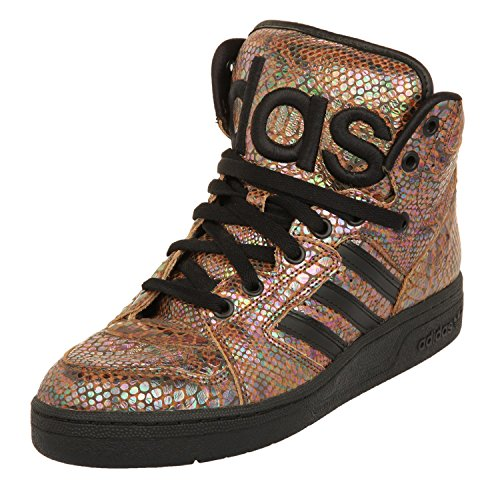 adidas Originals by Jeremey Scott Obyo Instinct Hi Rainbow Schuhe G95753