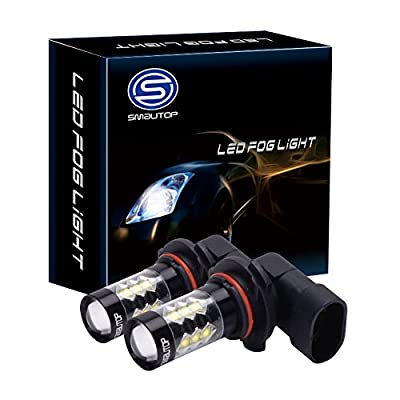 Smautop 80W LED Fog Lights Bulbs Order now for delivery by 2-14 Valentine's Day for your boyfriend / male friends