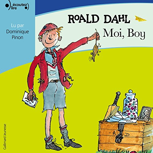 Moi, Boy audiobook cover art